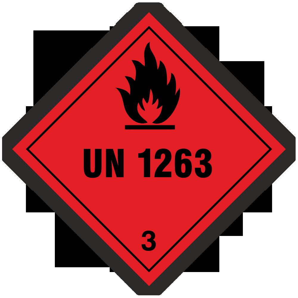 Gefahrzettel Klasse 3
